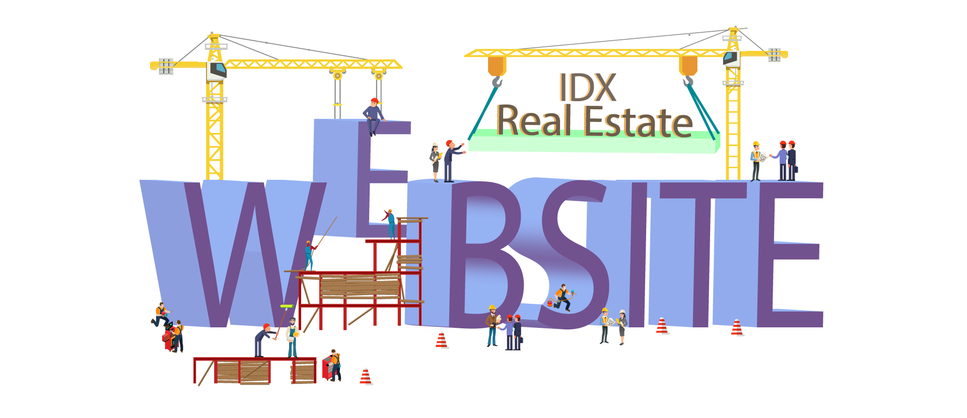 Build a website for IDX Real Estate